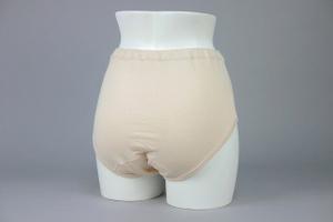 クラビオン女性用失禁パンツ ベージュ色3枚組カラー写真01