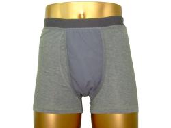男性用失禁対策 無地ボクサーパンツ(吸水布が本体と同色)  20ccカラー写真03