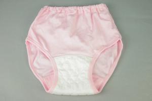 クラビオン女性用失禁パンツ ピンク色3枚組カラー写真02