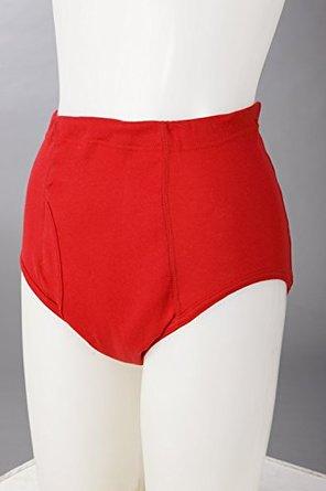 介護のプロが開発した赤失禁パンツ 紳士用スタイル写真