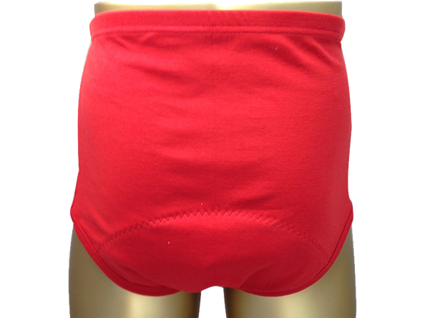 男性用失禁パンツ 赤ブリーフ 50ccカラー写真01