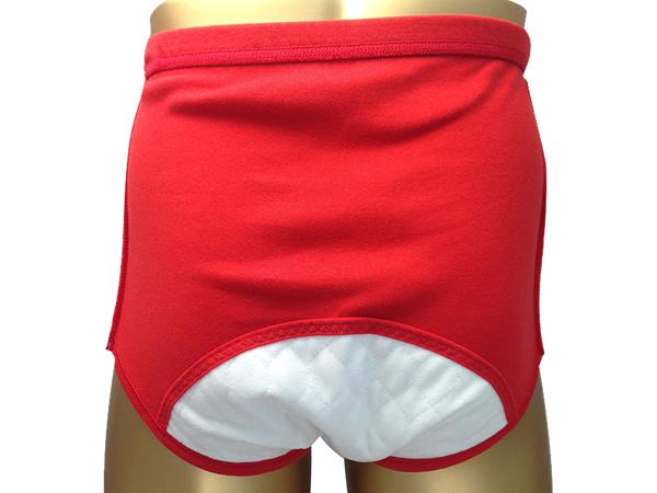 男性用失禁パンツ 赤ブリーフ 50ccカラー写真03