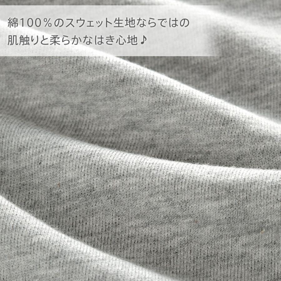 スウェット ショートパンツ 単品ボトムス(男女兼用)カラー写真03