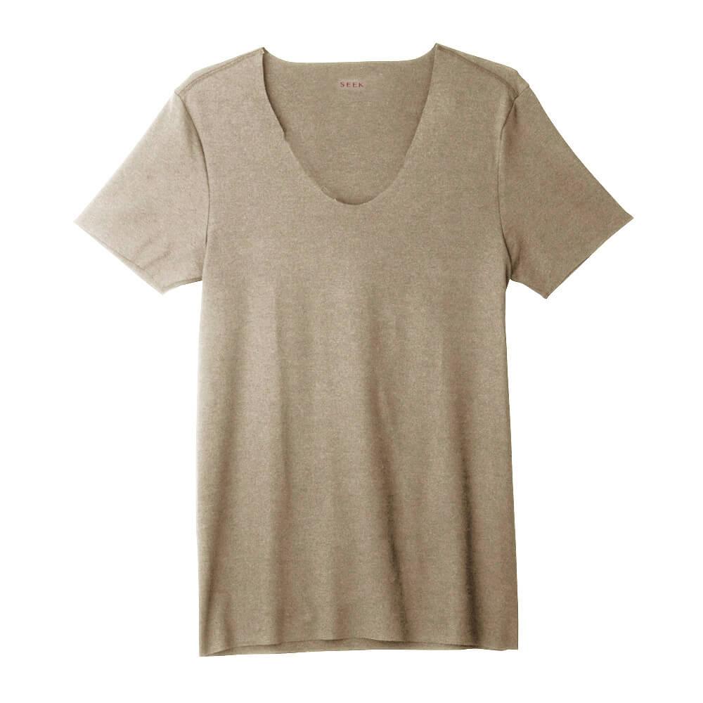 SEEK(シーク)【HOTMAGIC】UネックTシャツ(深めのUネック)(U首)(紳士)カラー写真03