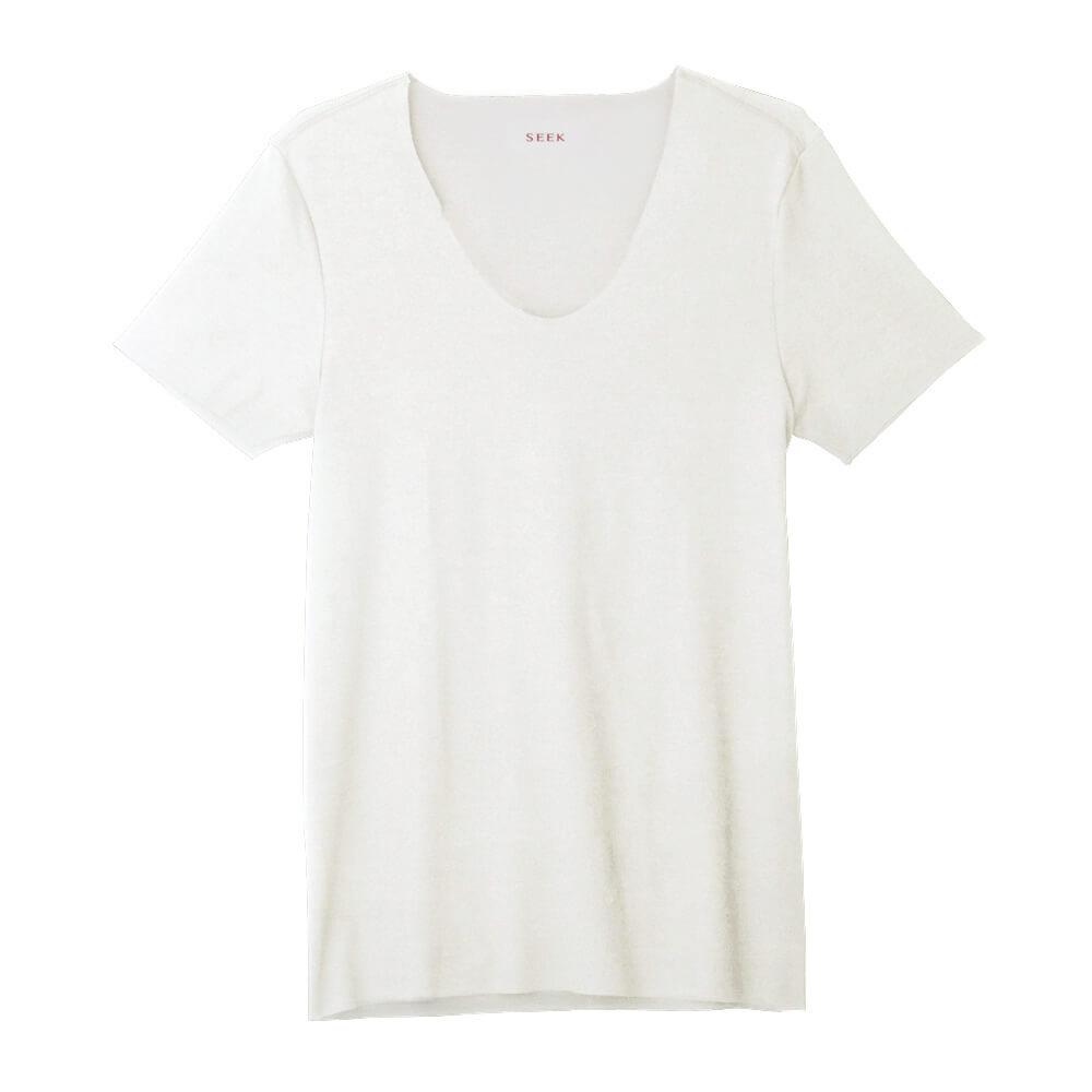 SEEK(シーク)【HOTMAGIC】UネックTシャツ(深めのUネック)(U首)(紳士)カラー写真01