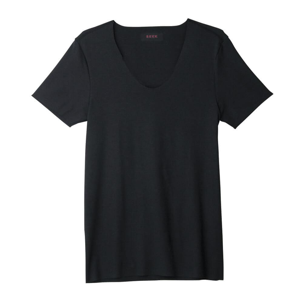SEEK(シーク)【HOTMAGIC】UネックTシャツ(深めのUネック)(U首)(紳士)カラー写真02