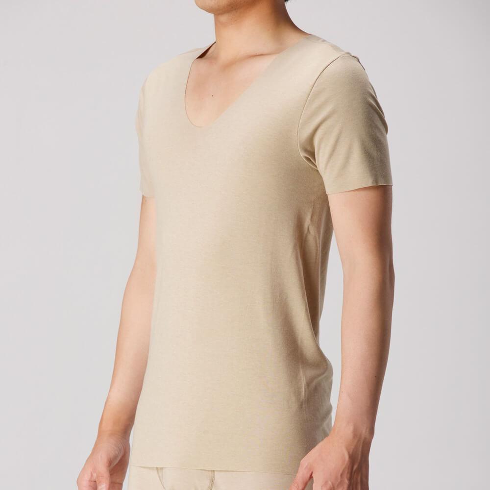 SEEK(シーク)【HOTMAGIC】UネックTシャツ(深めのUネック)(U首)(紳士)その他の写真01