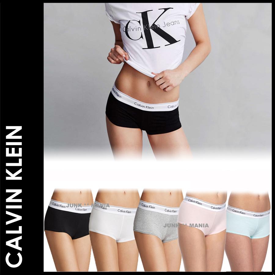 Calvin Klein ボーイショーツスタイル写真