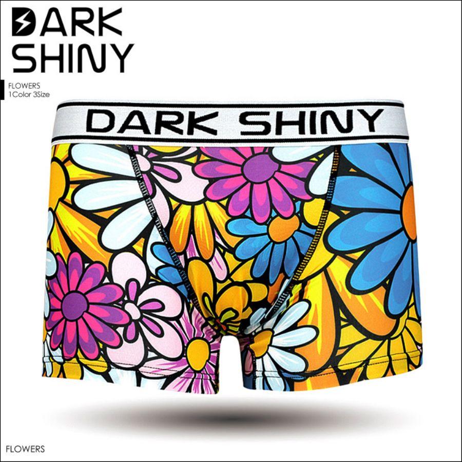 DARK SHINY/ダークシャイニー フラワー メンズ ボクサーパンツスタイル写真