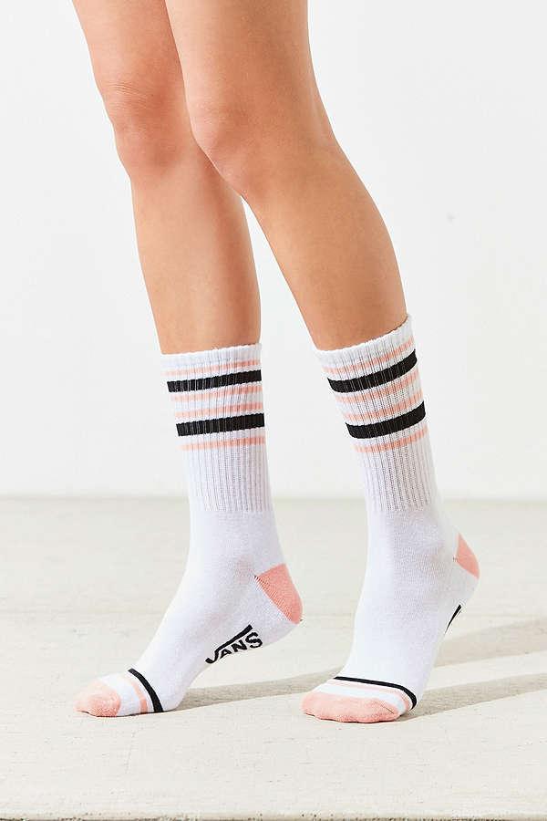 【VANS】バンズ ロゴラインソックス 靴下 3足セットカラー写真01