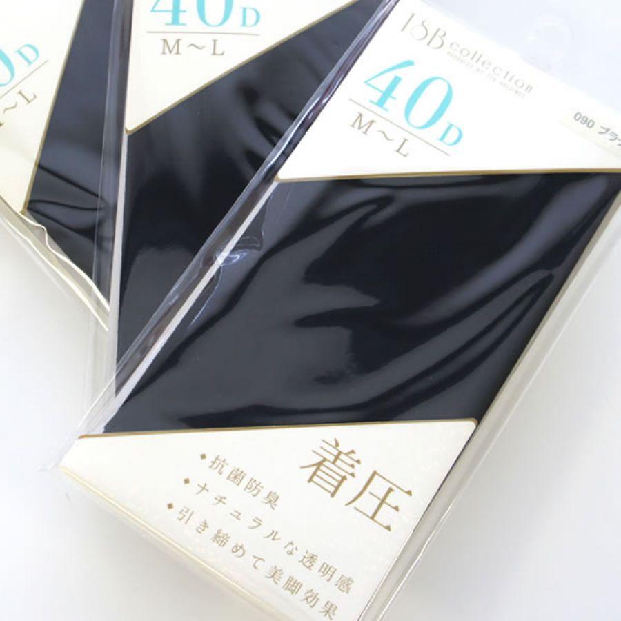 タイツ 3足SET M~L 40デニール 60デニール 80デニールカラー写真01