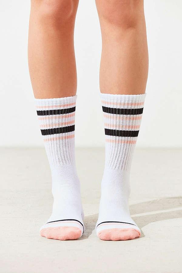 【VANS】バンズ ロゴラインソックス 靴下 3足セットカラー写真02
