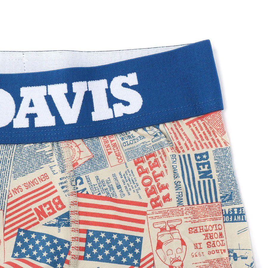 BEN DAVIS(ベンデイビス) アメリカンフラッグ柄ボクサーパンツカラー写真02