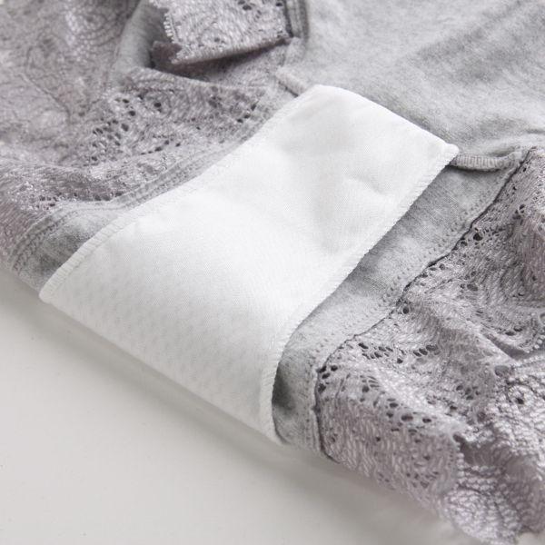 羽根付き対応 綿混ボックスタイプ サニタリーショーツ 2枚セットカラー写真03