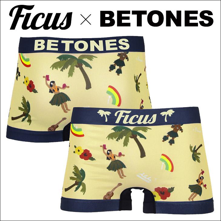 FICUS×BETONES HULA メンズ ボクサーパンツスタイル写真