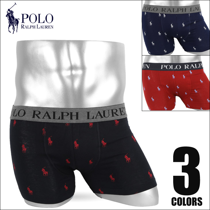 POLO RALPH LAUREN(ポロ ラルフローレン)Jersey Boxer Brief Hanging ボクサーパンツスタイル写真