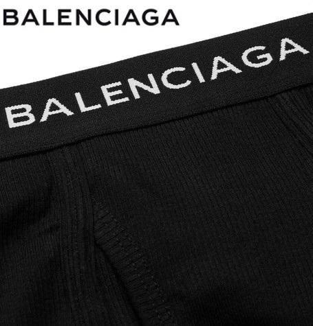 BALENCIAGAロゴ ボクサーパンツ 3枚セットカラー写真02