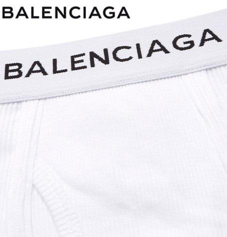 BALENCIAGAロゴ ボクサーパンツ 3枚セットカラー写真04