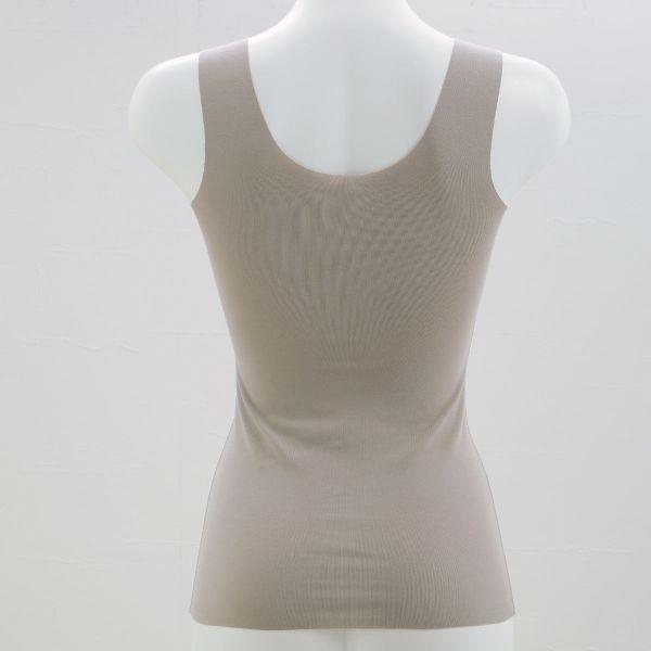 Wacoal スゴ衣 天然素材プラス オーガニックコットン ブラキャミ ブラトップ カップ付き MLカラー写真04