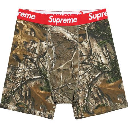 Supreme Hanes Realtree Boxer 2Packスタイル写真