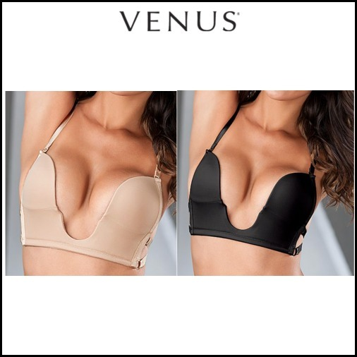 Venus*CUPID MULTI-WAY PLUNGE BRAスタイル写真