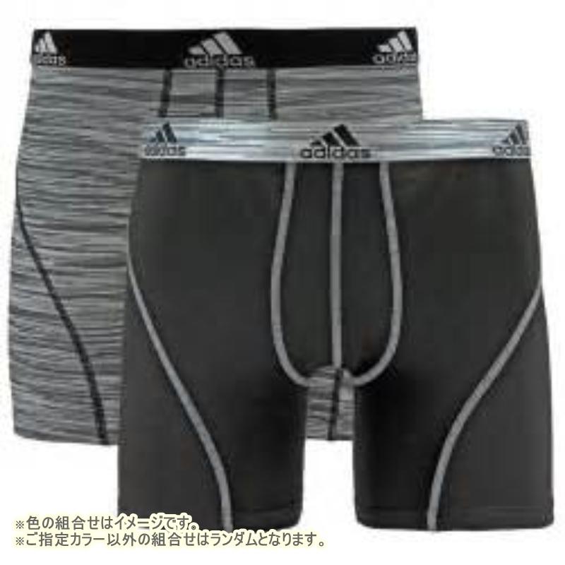 adidas 1色選べる激安福袋 メンズボクサーパンツ2枚セットその他の写真01