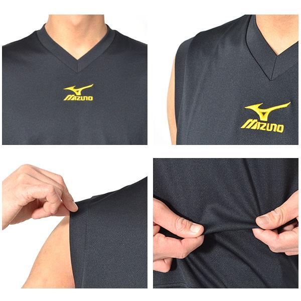 ミズノ MIZUNO Tシャツ メンズ ワンポイントカラー写真04