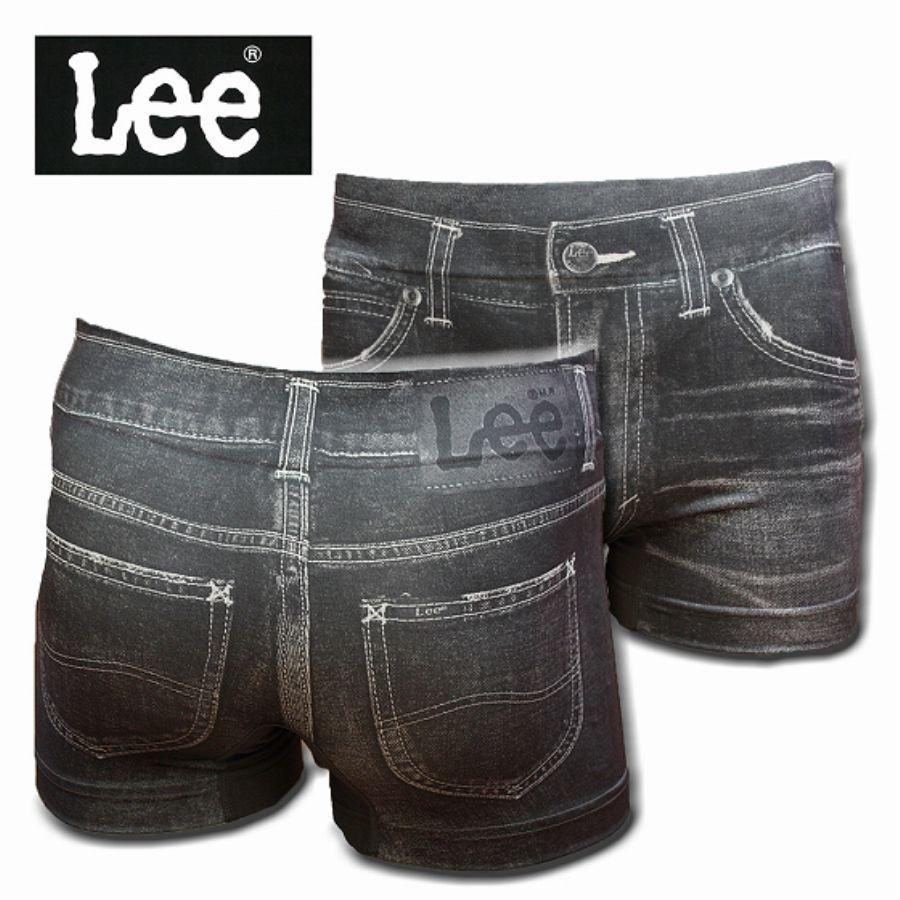 Lee 転写成型ボクサーパンツ ヴィンテージデニムスタイル写真