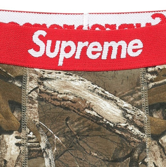 Supreme Hanes Realtree Boxer 2Packカラー写真01