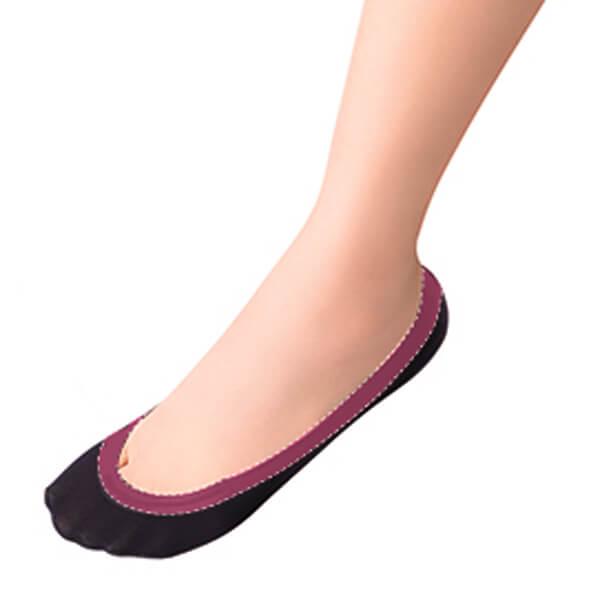 3足セット 脱げないココピタ 浅履きフットカバーカラー写真02