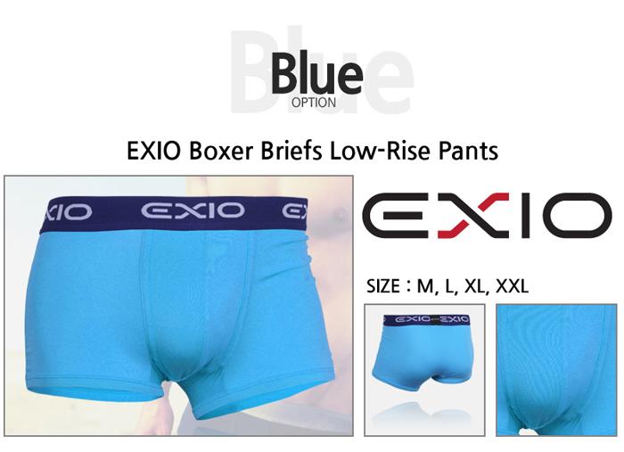 【お徳用8枚セット】 EXIO エクシオ ボクサーパンツ セットその他の写真01