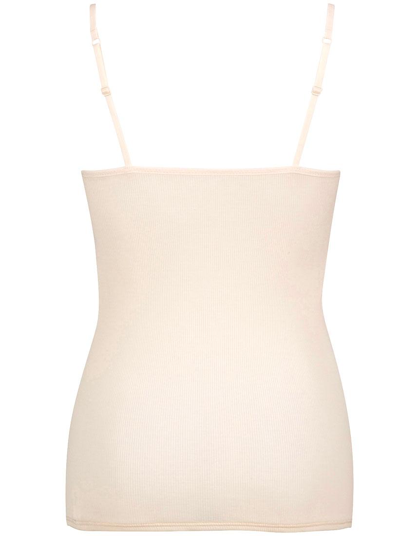 綿100%リブ編みタイプ キャミソール(カップ付)カラー写真02