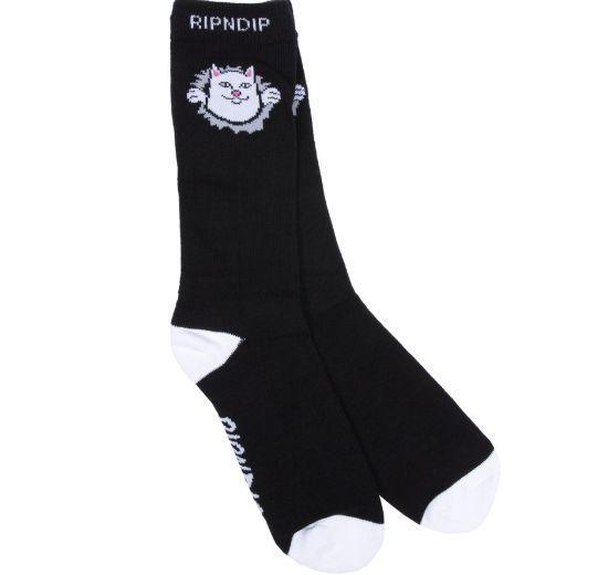 リップンディップ RIPNDIP ソックス Nermamaniac Socks 靴下 猫カラー写真03