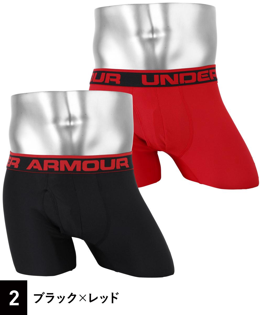 "Under Armour(アンダーアーマー)O SERIES 6 "" BOXER JOCK 2PKカラー写真02"
