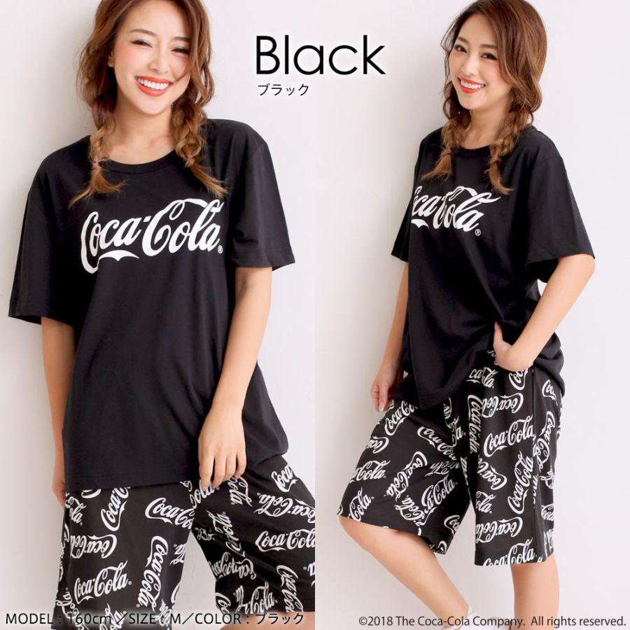 「コカ・コーラ」 上下セット(男女兼用サイズ)カラー写真01