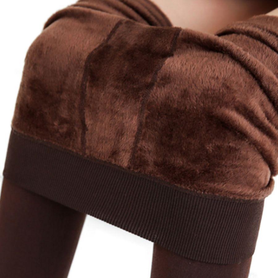 極暖レギンス 裏起毛毛布生地カラー写真03