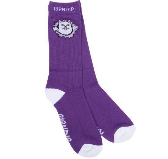 リップンディップ RIPNDIP ソックス Nermamaniac Socks 靴下 猫カラー写真02