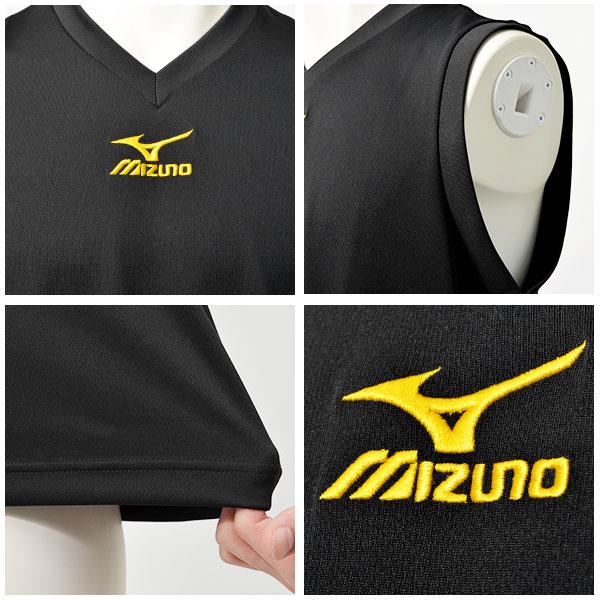 ミズノ MIZUNO Tシャツ メンズ ワンポイントカラー写真03