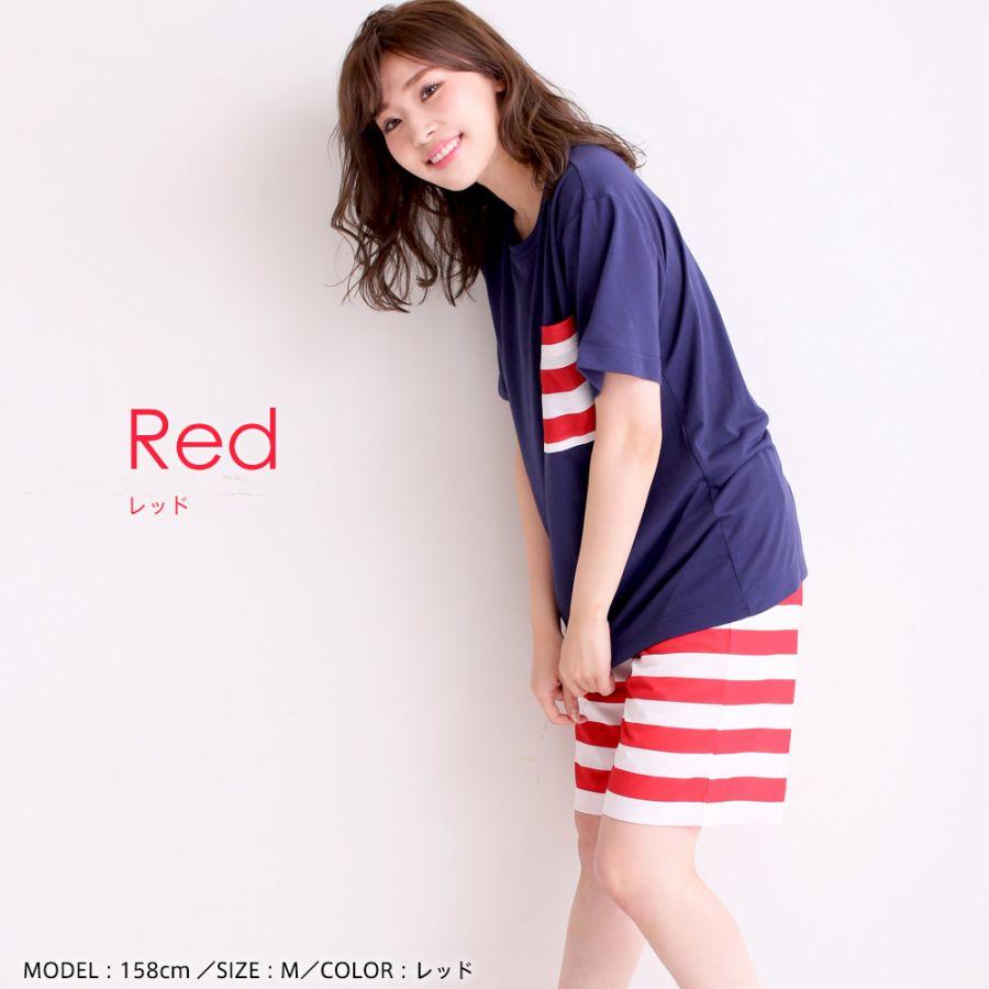 カジュアル 半袖 上下セット(男女兼用サイズ)カラー写真01