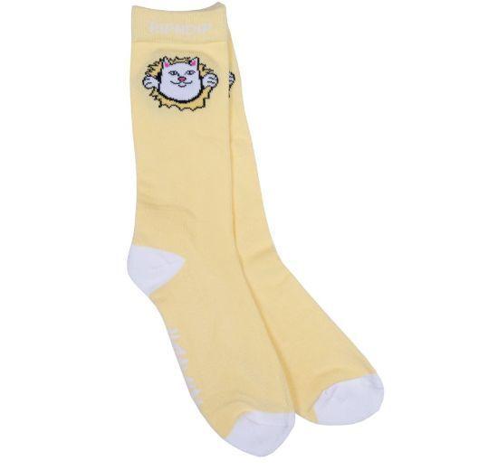 リップンディップ RIPNDIP ソックス Nermamaniac Socks 靴下 猫カラー写真01