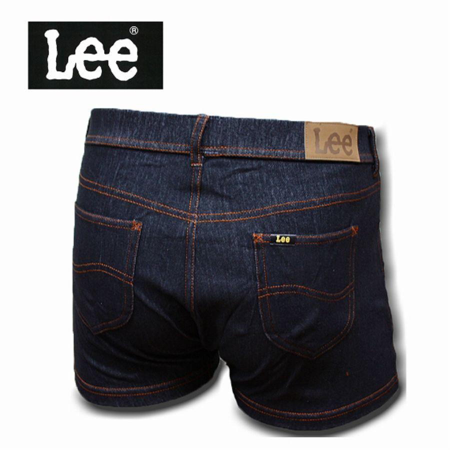 Lee デニムボクサーパンツ デニム 090:ブラックスタイル写真