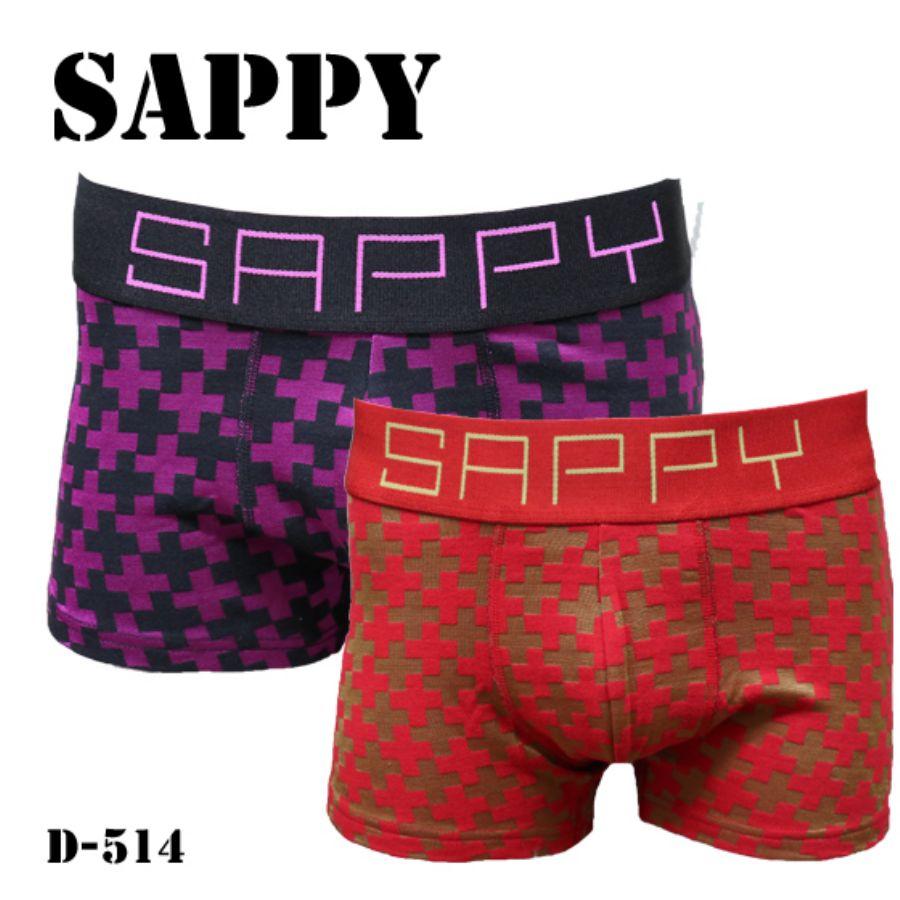 SAPPY ボクサーパンツ ローライズ Mクロススタイル写真
