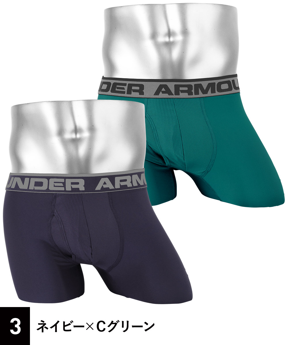 "Under Armour(アンダーアーマー)O SERIES 6 "" BOXER JOCK 2PKカラー写真03"