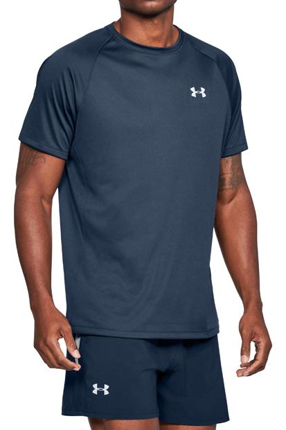 アンダーアーマー ヒートギアランTシャツ(ランニング/Tシャツ/MEN)スタイル写真
