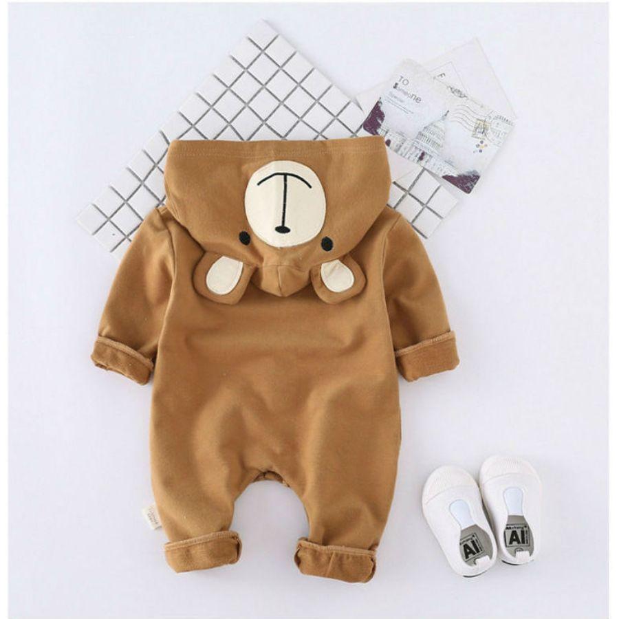 かわいいクマさん着ぐるみカバーオールカラー写真03