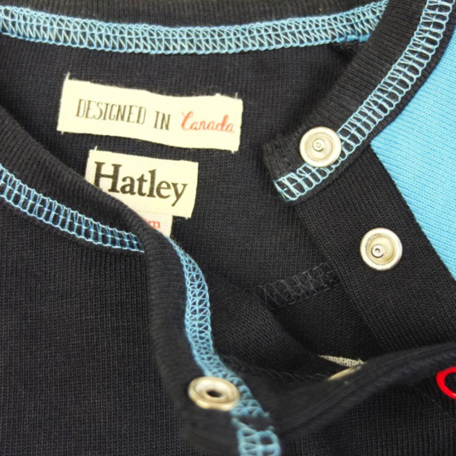 【Hatley/ハットレイ】ハットレイ ヘビーロンパースカラー写真02