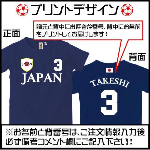 サッカーユニフォーム・名入れロンパースカラー写真01