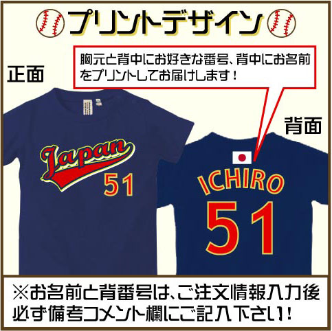 野球ユニフォーム・名入れロンパースカラー写真01