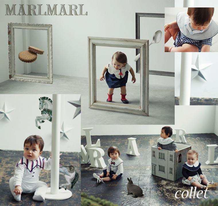 マールマール MARLMARL まあるいよだれかけ コレットカラー写真02