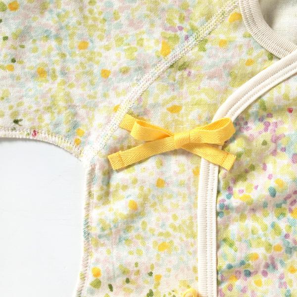 NAOMI ITO ナオミイトウ わたガーゼ コンビ肌着 ibuki(いぶき)カラー写真02